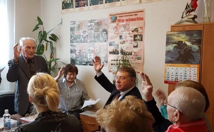 встреча Орлова, Совет ветеранов, овраг, благоустройство