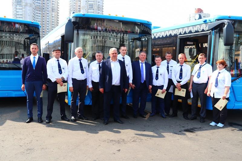 Мосгортранс, филиал Южный, Андрей Яшкин, Степан Орлов, новые автобусы