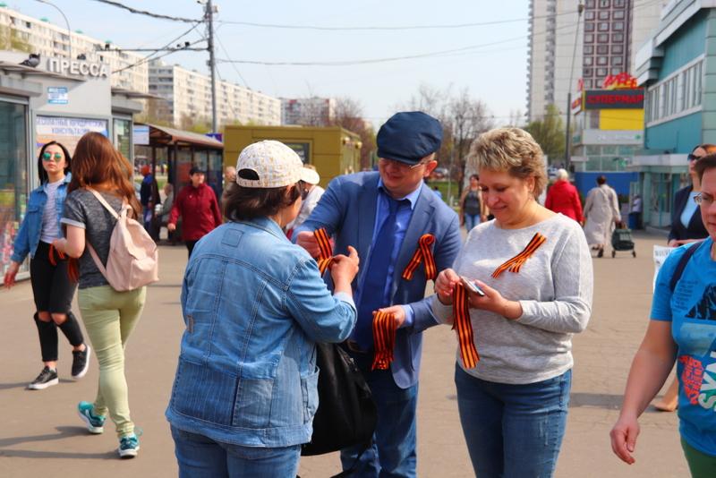 георгиевская ленточка, депутаты, Орехово-Борисово Южное (8)