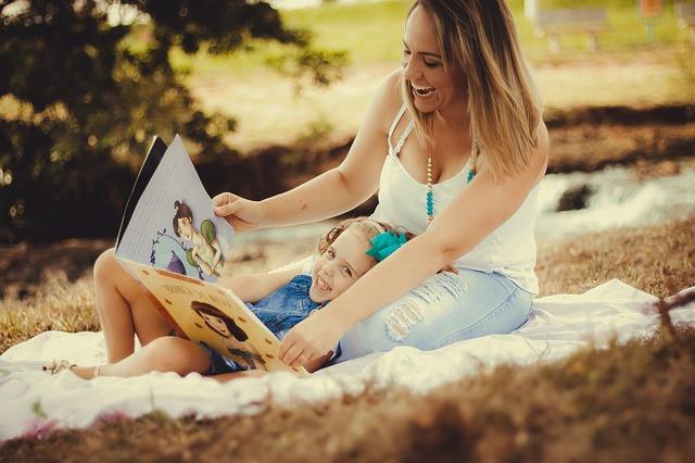 чтение, книги, дети, мама, пиксабай