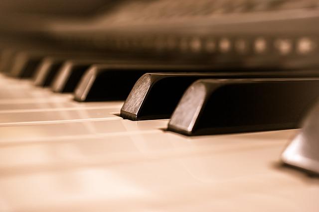 пианино, клавиши, музыка, орган, пиксабай