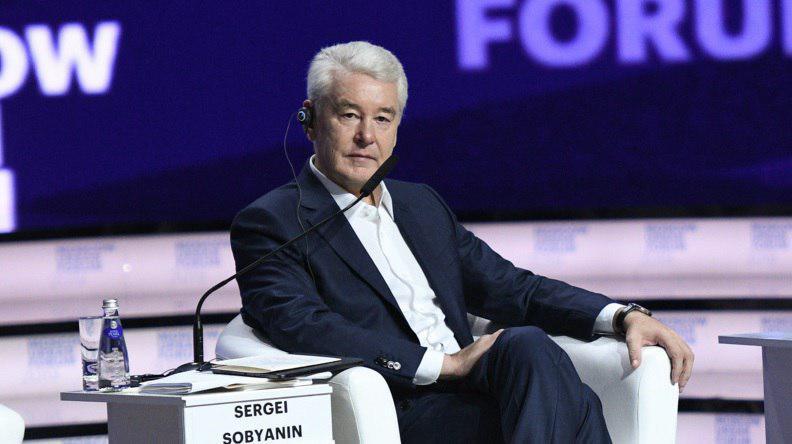 Мэр Москвы Сергей Собянин интервью метро электрички