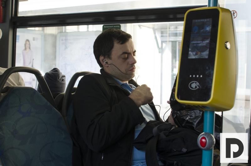 Автобусы, маршрут № 765, метро Орехово, метро Братеево, Мосгортранс