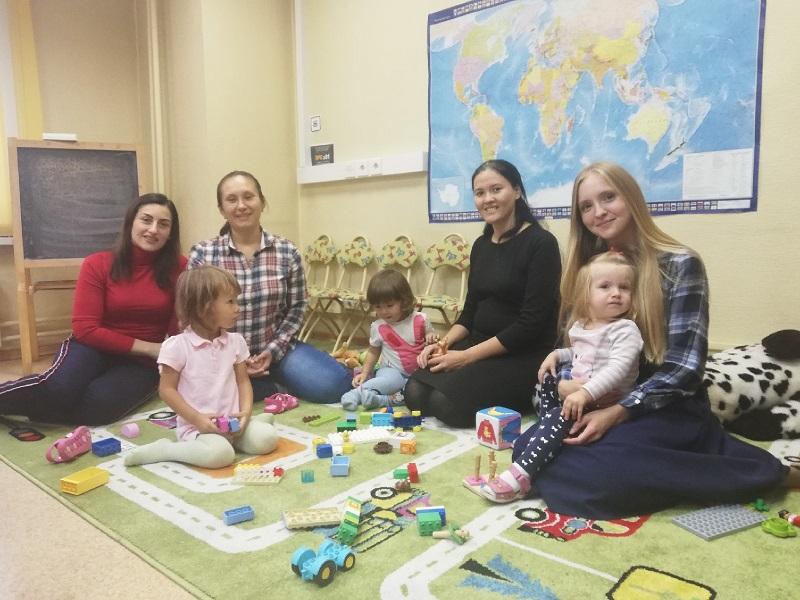 Мамино время, библиотека № 152, Юлия Тукмачева, дети