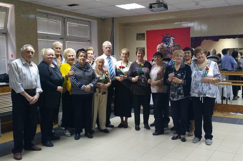 ЦДС Южное, танцы, праздник, День пожилого человека, Московское долголетие