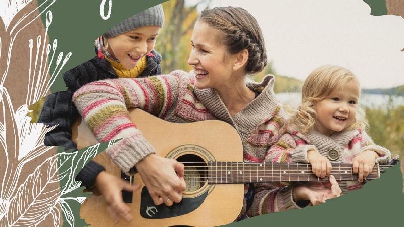 библиотека № 152, дети, Мамино время, песни под гитару, клуб