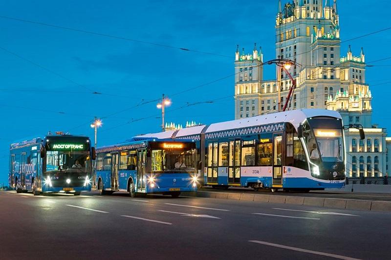 Автобус, Мосгортранс,Новый год