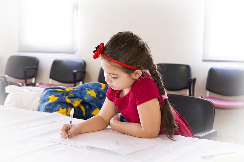 Рисование, ребенок, фото Pixabay, комикс, библиотека № 152, рисование