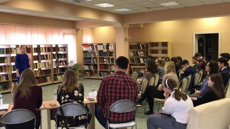 Молодежная палата, конкурс чтецов, библиотека № 152